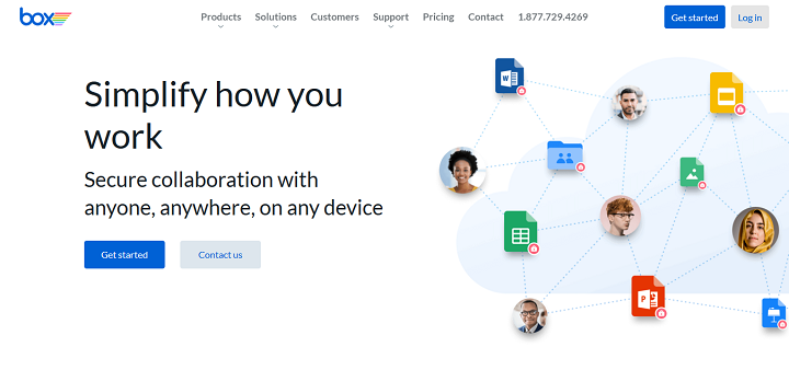 Secure File Sharing, Storage, and Collaboration Box