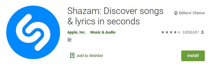 Shazam Discover songs lyrics