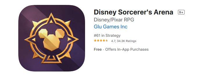 Disney Sorcerers Arena