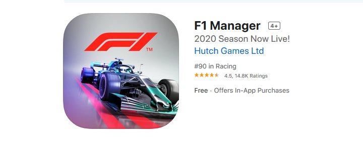 F1 Manager - Formula One