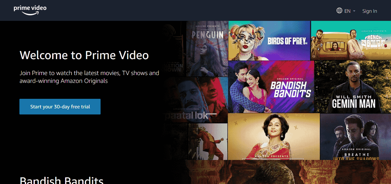 Prime Video - Online Streaming Services