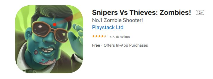 Snipers Vs Thieves Zombies!