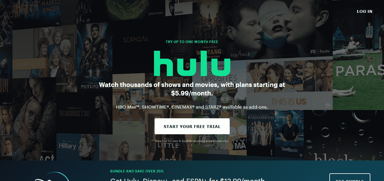 Stream TV and Movies Live and Online Hulu
