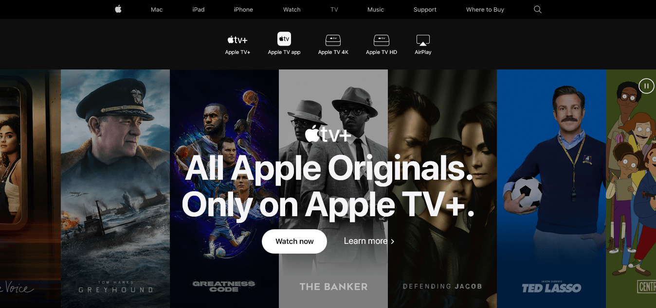 TV-Apple + Online Streaming Services