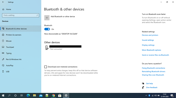Enable Bluetooth In Windows Operating System