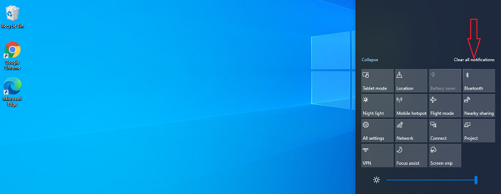 How to Remove All Notifications - Windows 10 Notifications