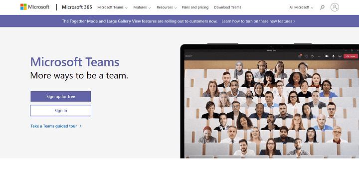 Microsoft Teams - Alternatives to Zoom