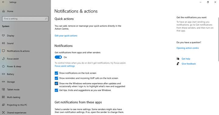 Permanently Mute Windows 10 Notifications