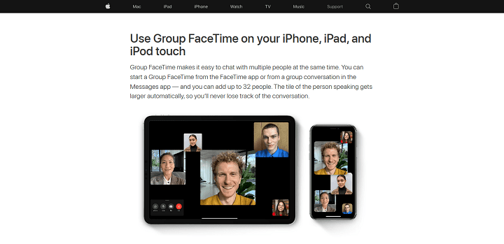 Use Group FaceTime on your iPhone, iPad, and iPod touch