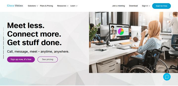 Alternatives to Zoom - Cisco Webex