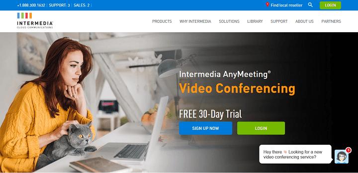 Video Conferencing Screen Share Intermedia