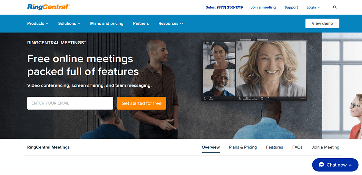 Video Conferencing, Screen Sharing, and Team Messaging RingCentral