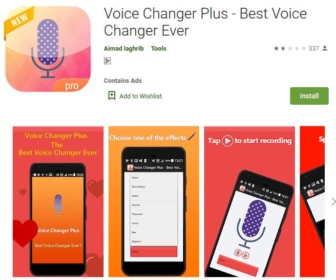 Voice Changer Plus - Best Voice Changer Ever
